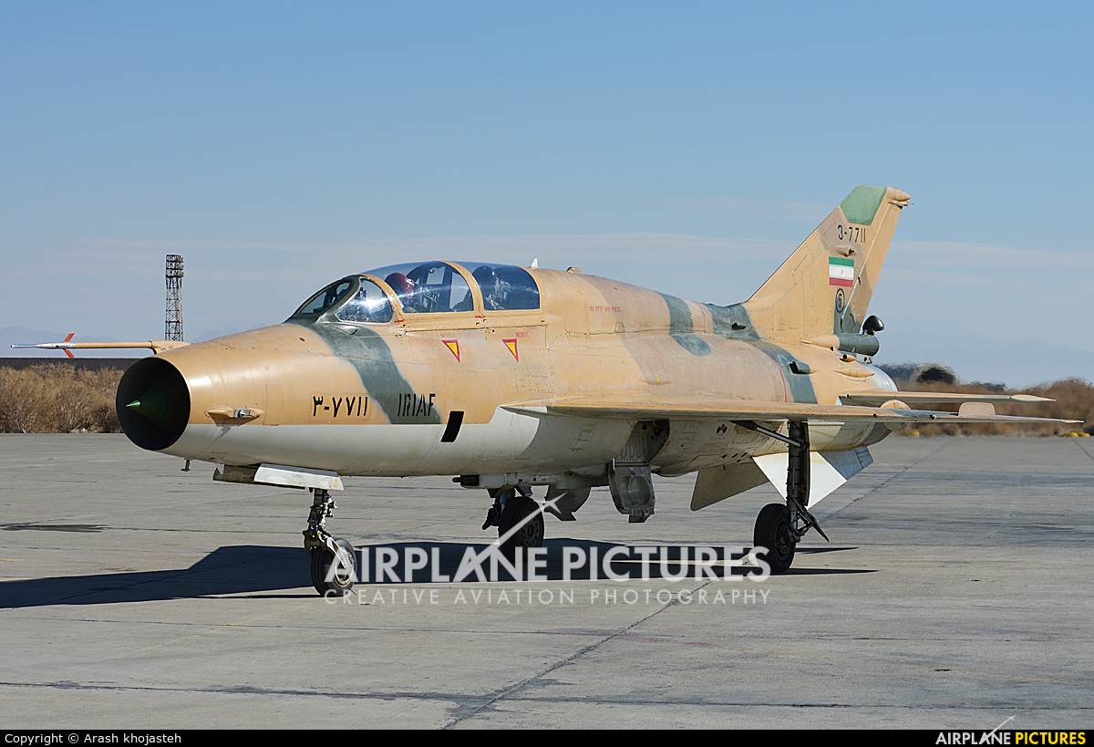 Iran - Islamic Republic Air Force 3-7711 aircraft at Isfahan - Shahid Beheshti