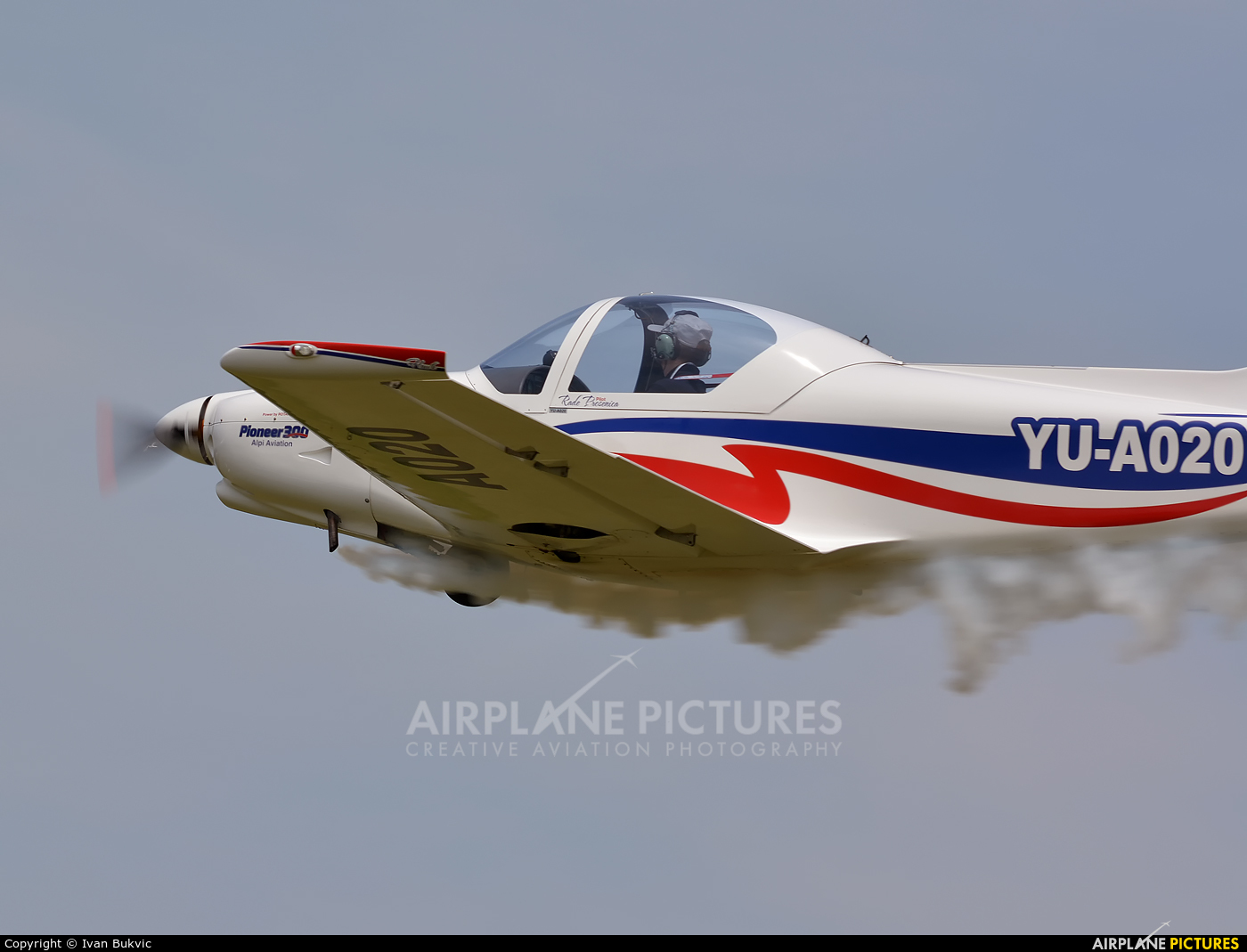Private YU-A020 aircraft at Off Airport - Serbia