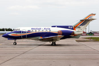 RA-02811 - Weltall Avia British Aerospace BAe 125