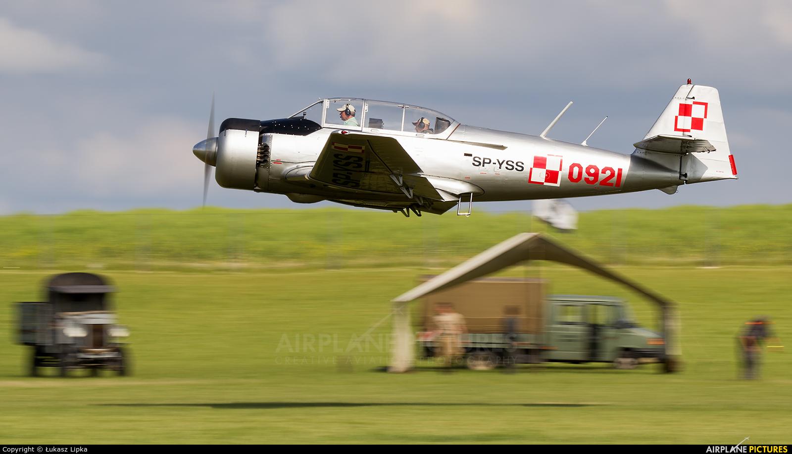 Private SP-YSS aircraft at Depułtycze Królewskie