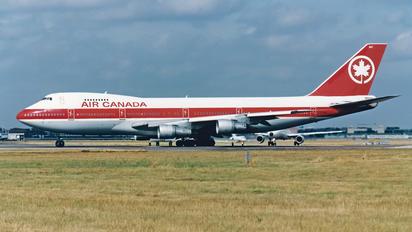 C-GAGB - Air Canada Boeing 747-200