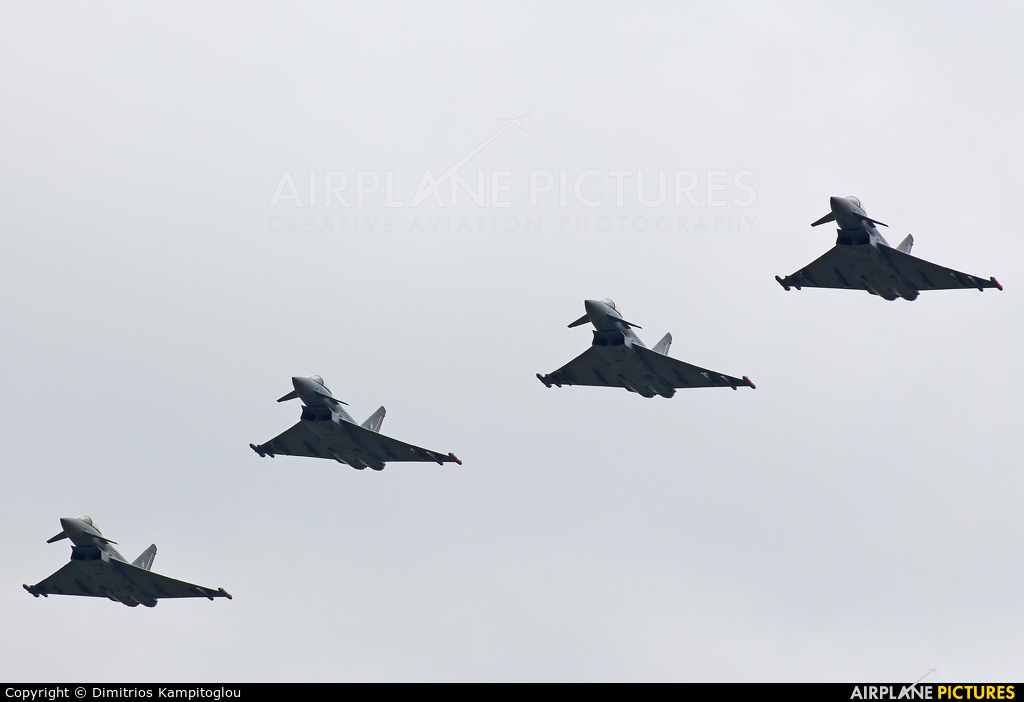 Germany - Air Force 30+25 aircraft at Neuburg - Zell
