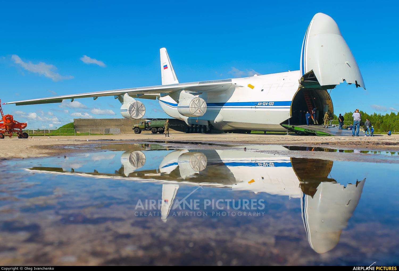 224 Flight Unit RA-82035 aircraft at Tver - Migalovo