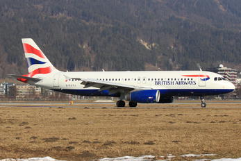 G-EUYJ - British Airways Airbus A320