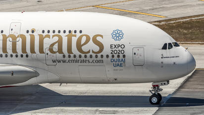 A6-EEW - Emirates Airlines Airbus A380