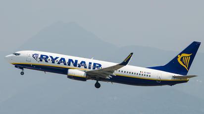EI-DHY - Ryanair Boeing 737-800
