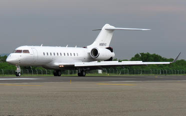 N898WS - Private Bombardier BD-700 Global 5000