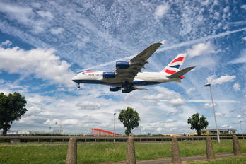 G-XLEJ - British Airways Airbus A380