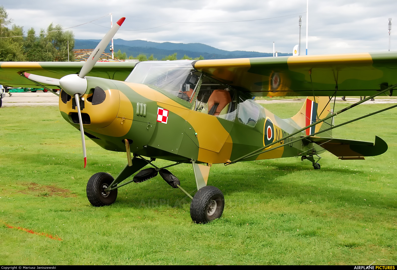 Private OK-PUD01 aircraft at Nowy Targ