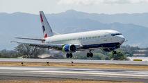 N859AU - British Airways Boeing 737-400 aircraft
