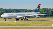 ZS-SXA - South African Airways Airbus A340-300 aircraft