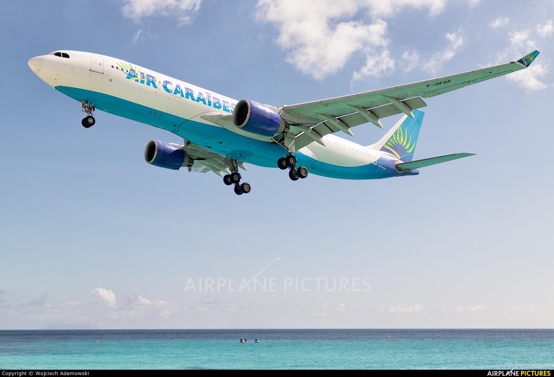 Air Caraibes F-OFDF aircraft at Sint Maarten - Princess Juliana Intl