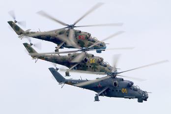 RF-93139 - Berkuty (Golden eagles) display team Mil Mi-24P