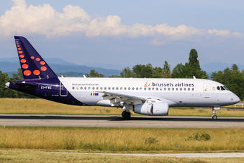 - - Brussels Airlines Sukhoi Superjet 100