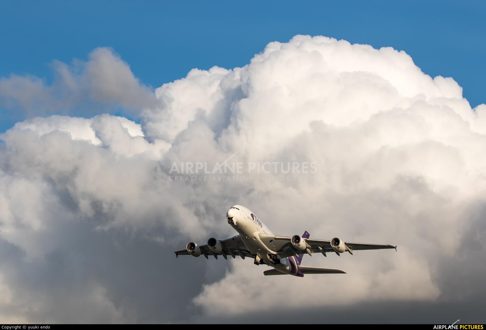Thai Airways HS-TUE aircraft at Off Airport - Japan