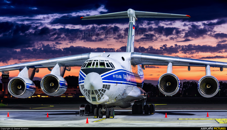 Volga Dnepr Airlines RA-76952 aircraft at Maastricht - Aachen
