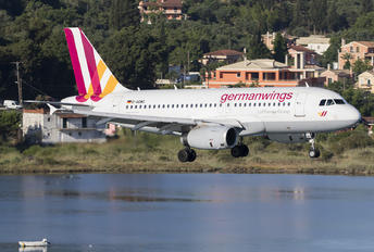 D-AGWS - Germanwings Airbus A319