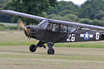 G-BBLH - Shipping and Airlines Piper L-4 Cub