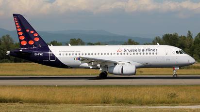 EI-FWE - CityJet Sukhoi Superjet 100