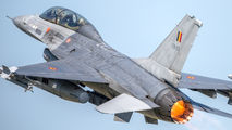 FB-22 - Belgium - Air Force General Dynamics F-16B Fighting Falcon aircraft
