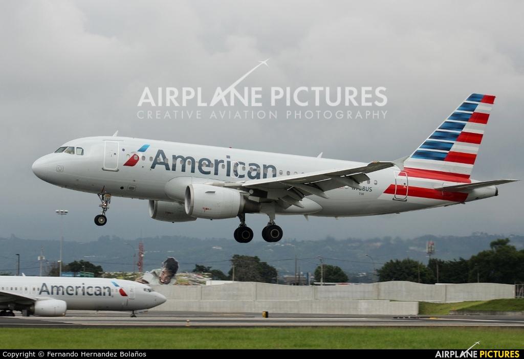 American Airlines N738US aircraft at San Jose - Juan Santamaría Intl