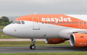 G-EZFU - easyJet Airbus A319