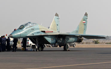 3-6307 - Iran - Islamic Republic Air Force Mikoyan-Gurevich MiG-29UB