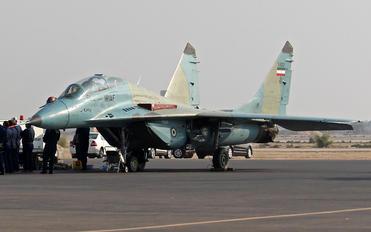 3-6307 - Iran - Islamic Republic Air Force Mikoyan-Gurevich MiG-29UB