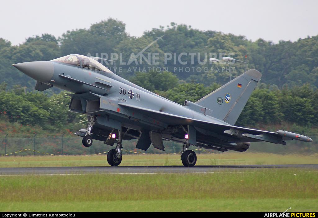 Germany - Air Force 30+11 aircraft at Neuburg - Zell