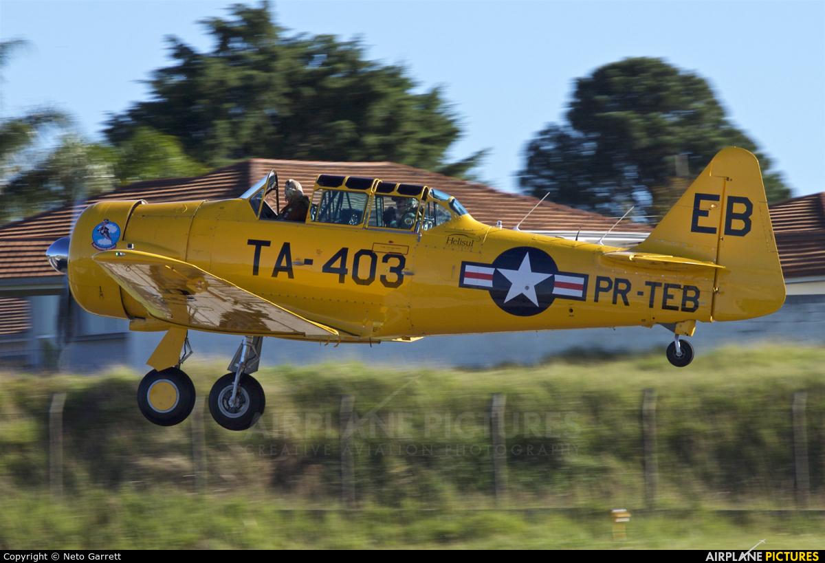 Private PR-TEB aircraft at Curitiba - Bacacheri