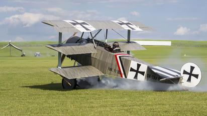 OK-TAV58 - Private Fokker DR.1 Triplane (replica)