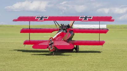OK-UAA 90 - Private Fokker DR.1 Triplane (replica)