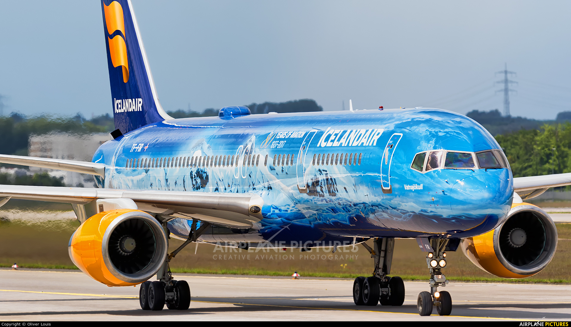Icelandair TF-FIR aircraft at Frankfurt