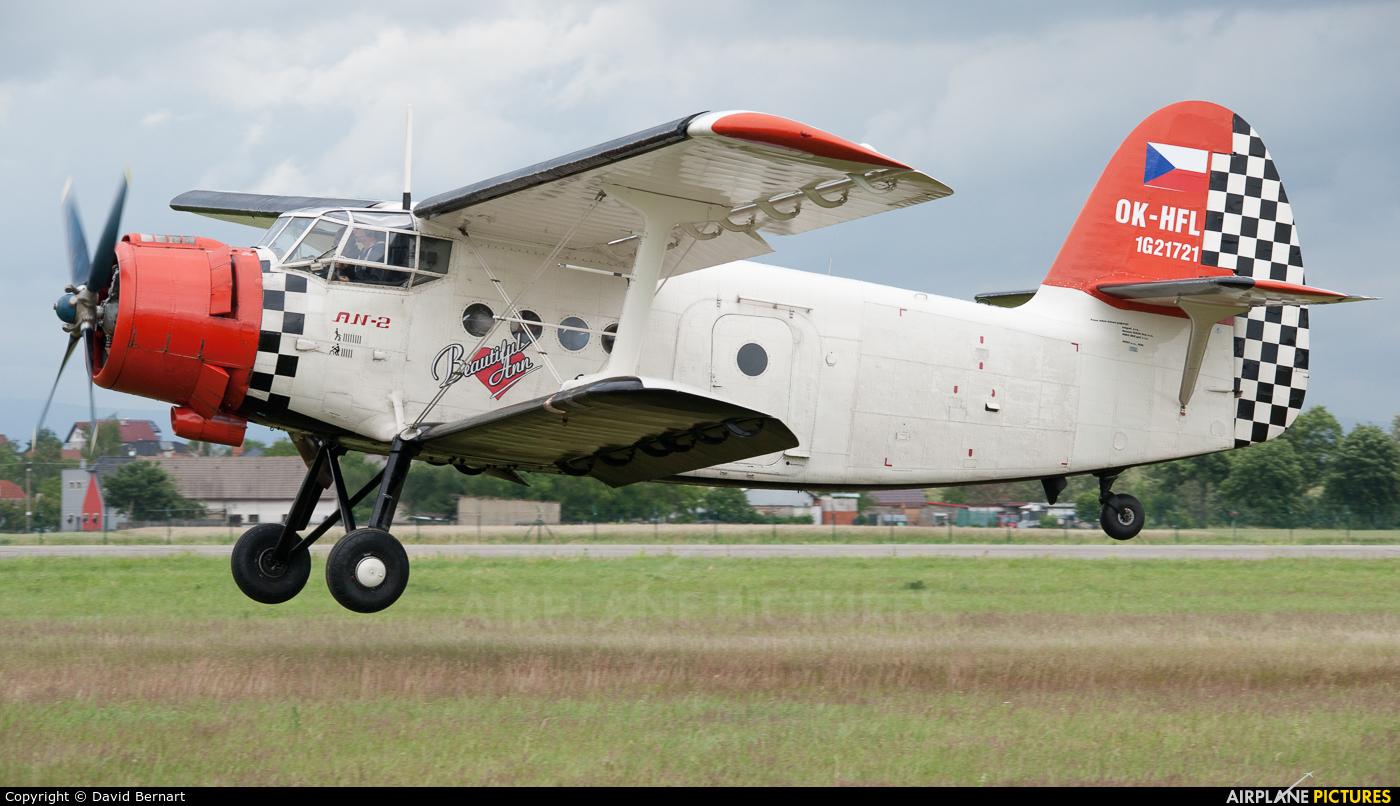 Heritage of Flying Legends OK-HFL aircraft at Hradec Králové