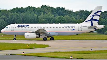 SX-DVK - Aegean Airlines Airbus A320