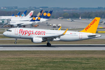 TC-DCM - Pegasus Airbus A320