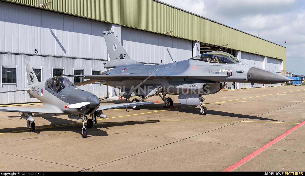 Netherlands - Air Force J-017 aircraft at Leeuwarden