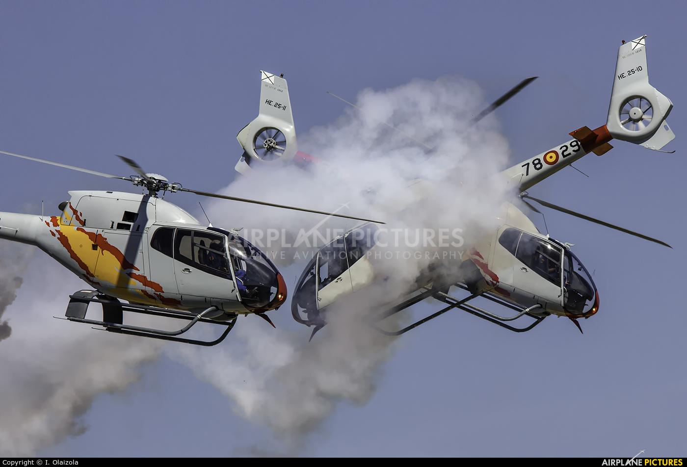 Spain - Air Force: Patrulla ASPA HE.25-1 aircraft at León
