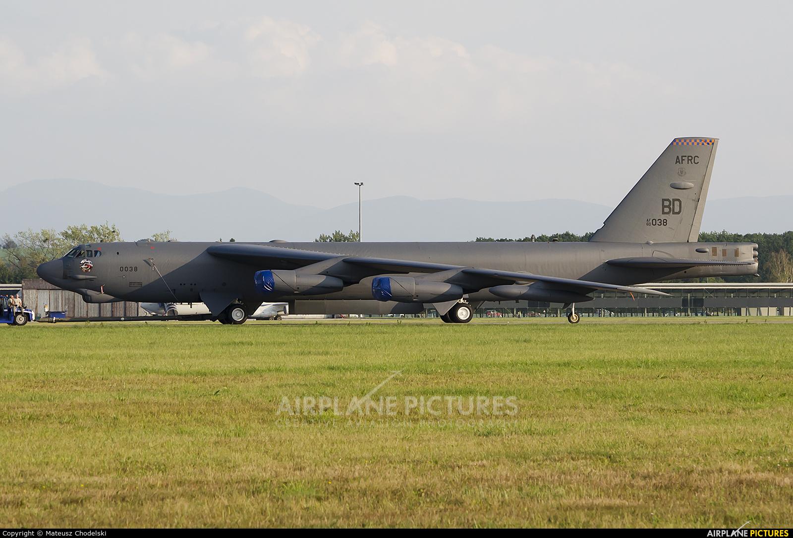 USA - Air Force 60-0038 aircraft at Ostrava Mošnov