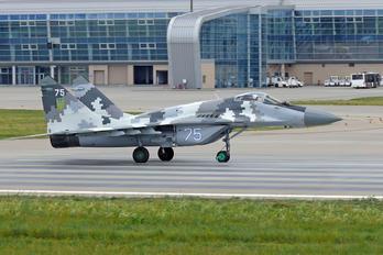 75 - Ukraine - Air Force Mikoyan-Gurevich MiG-29SMT