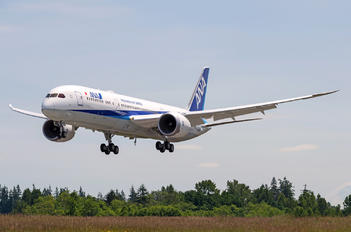 JA892A - ANA - All Nippon Airways Boeing 787-9 Dreamliner