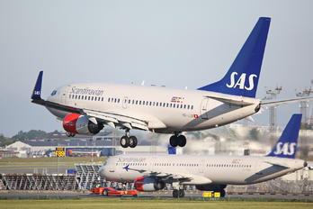 HB-JJA - SAS - Scandinavian Airlines Boeing 737-700