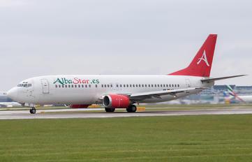 EC-LTG - AlbaStar Boeing 737-400