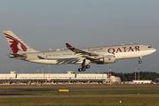 A7-ACB - Qatar Airways Airbus A330-200 aircraft