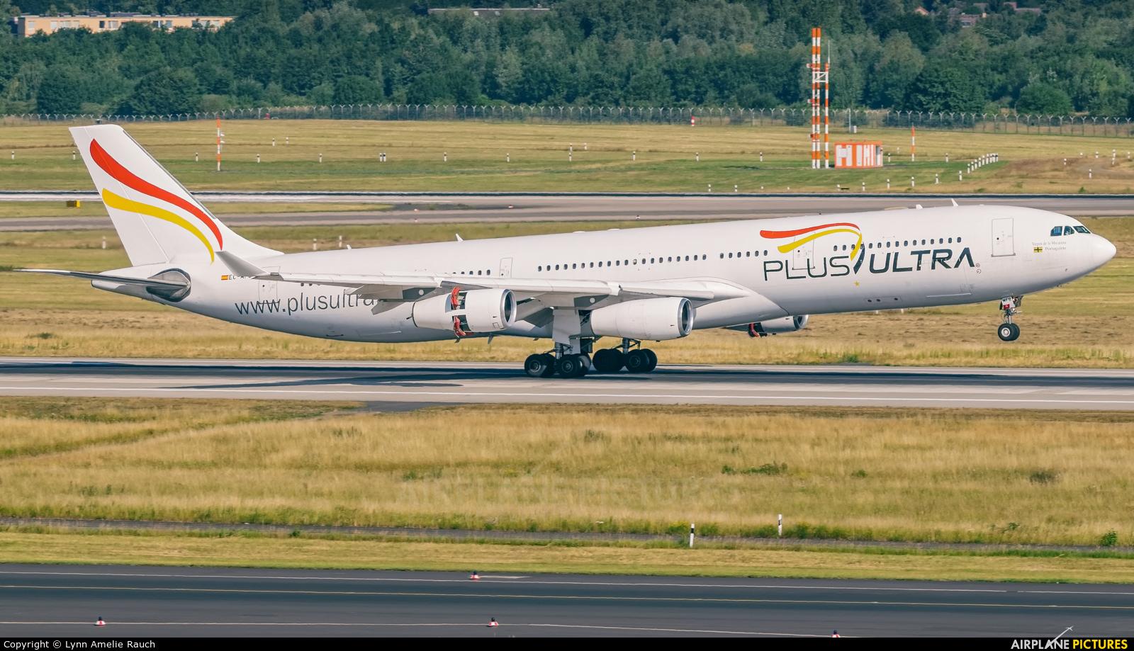 Plus Ultra EC-MFB aircraft at Düsseldorf