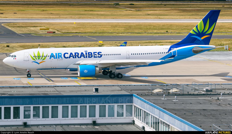Air Caraibes F-HHUB aircraft at Düsseldorf