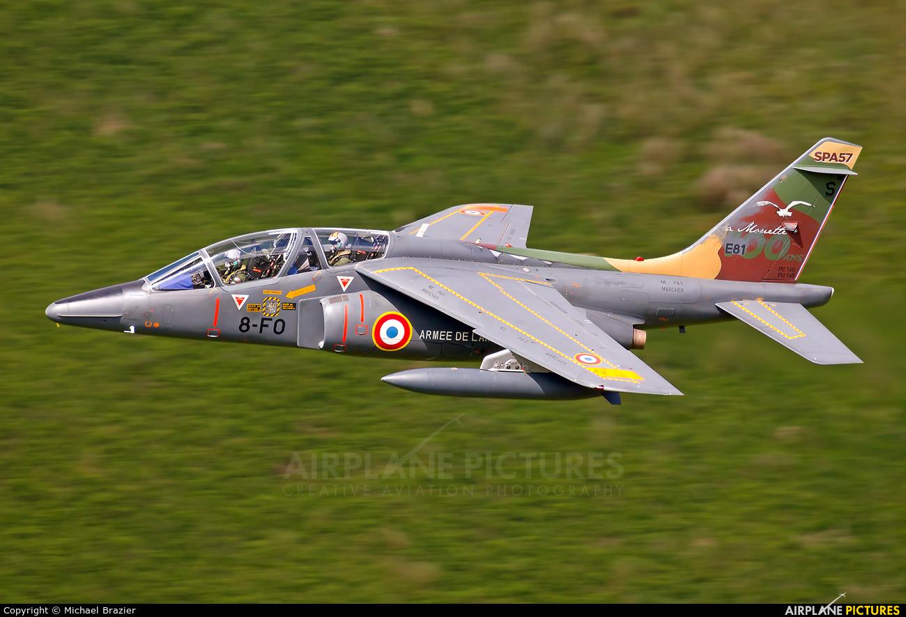 France - Air Force E81 aircraft at Machynlleth Loop - LFA 7