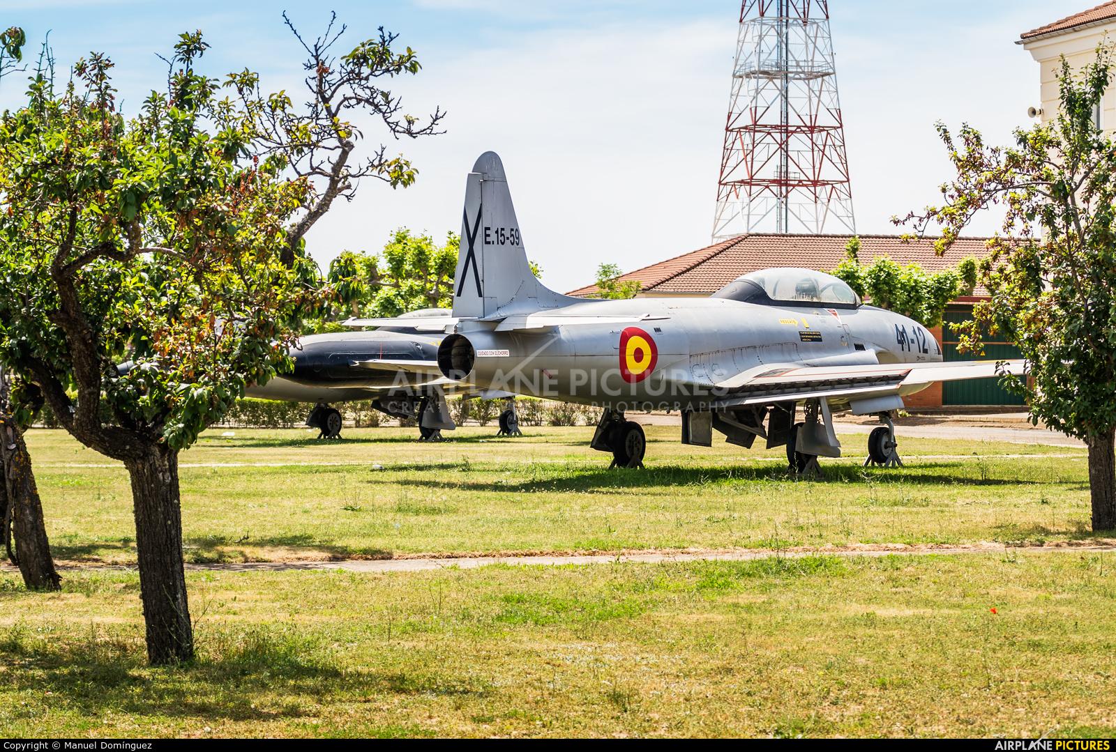 Spain - Air Force E.15-59 aircraft at León