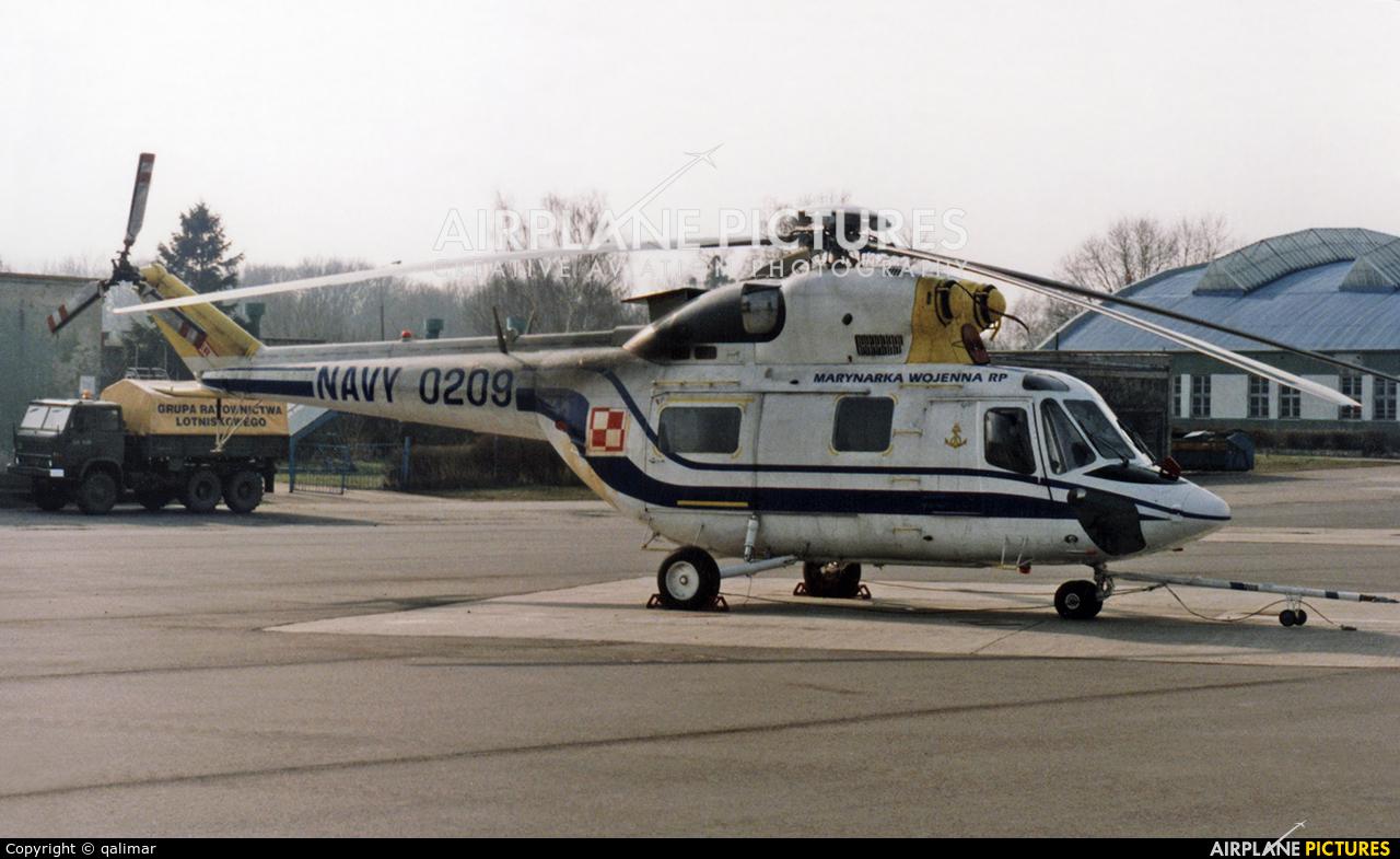 Poland - Navy 0209 aircraft at Gdynia- Babie Doły (Oksywie)