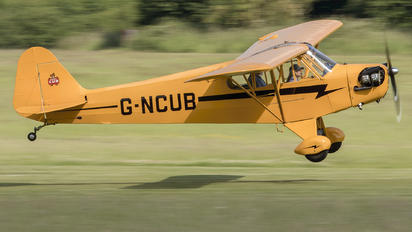 G-NCUB - Private Piper J3 Cub